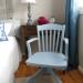 Slate Banker's Chair