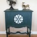 Peacock Milk Paint Table