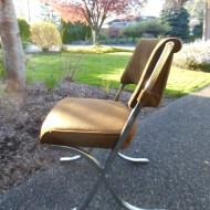 X Base Chrome Chairs