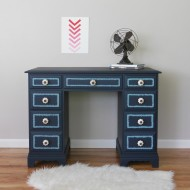 An ikat inspired desk