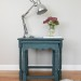 A pair of milk paint nesting tables
