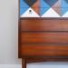 A Geometric Mid Century Dresser