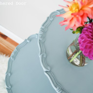Antique Two-Tier Table in Elegance