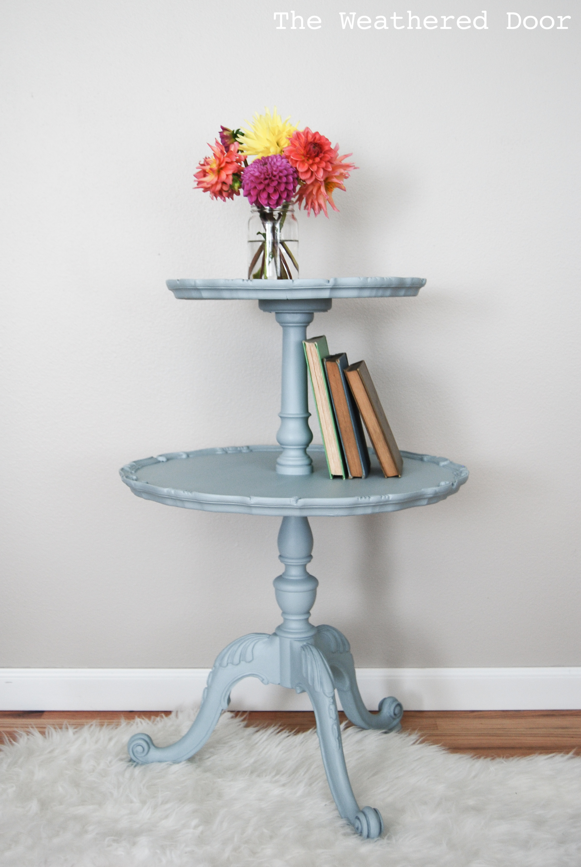 Antique Two Tier Table In Elegance The Weathered Door