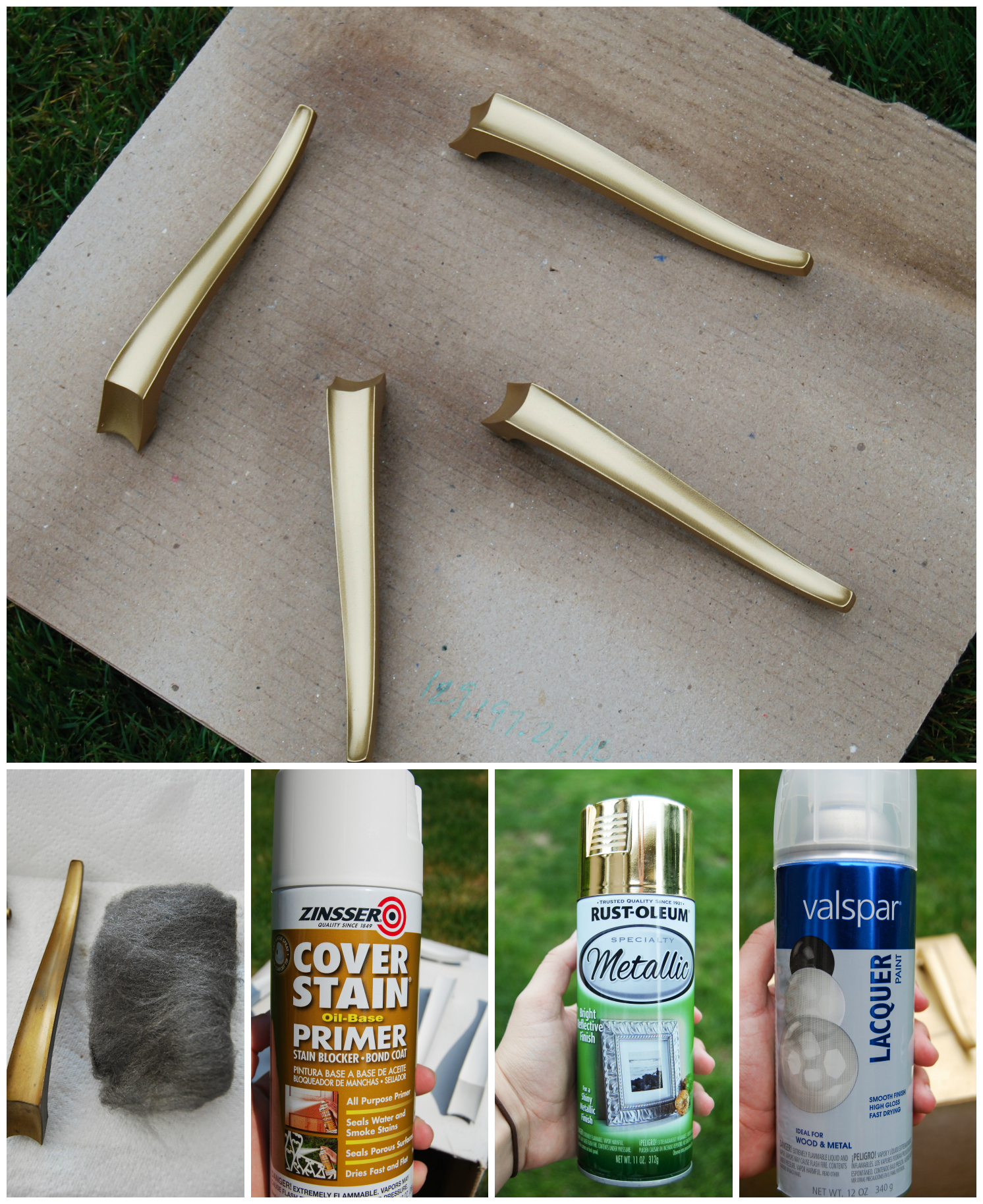 How To Paint Hardware And Make It Last The Weathered Door