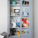 A Grey on Grey Cabinet