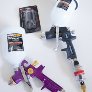 How I Started Spraying Furniture: Which tools worked, and which didn't