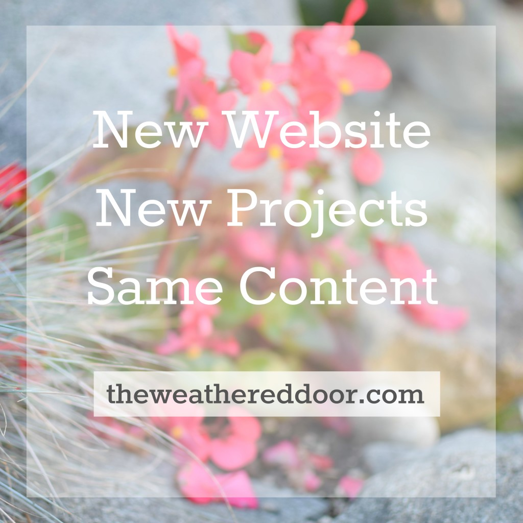 theweathereddoor.com New Website, New Projects, Same Content square 3