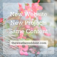 New Projects, New Website, Same Content