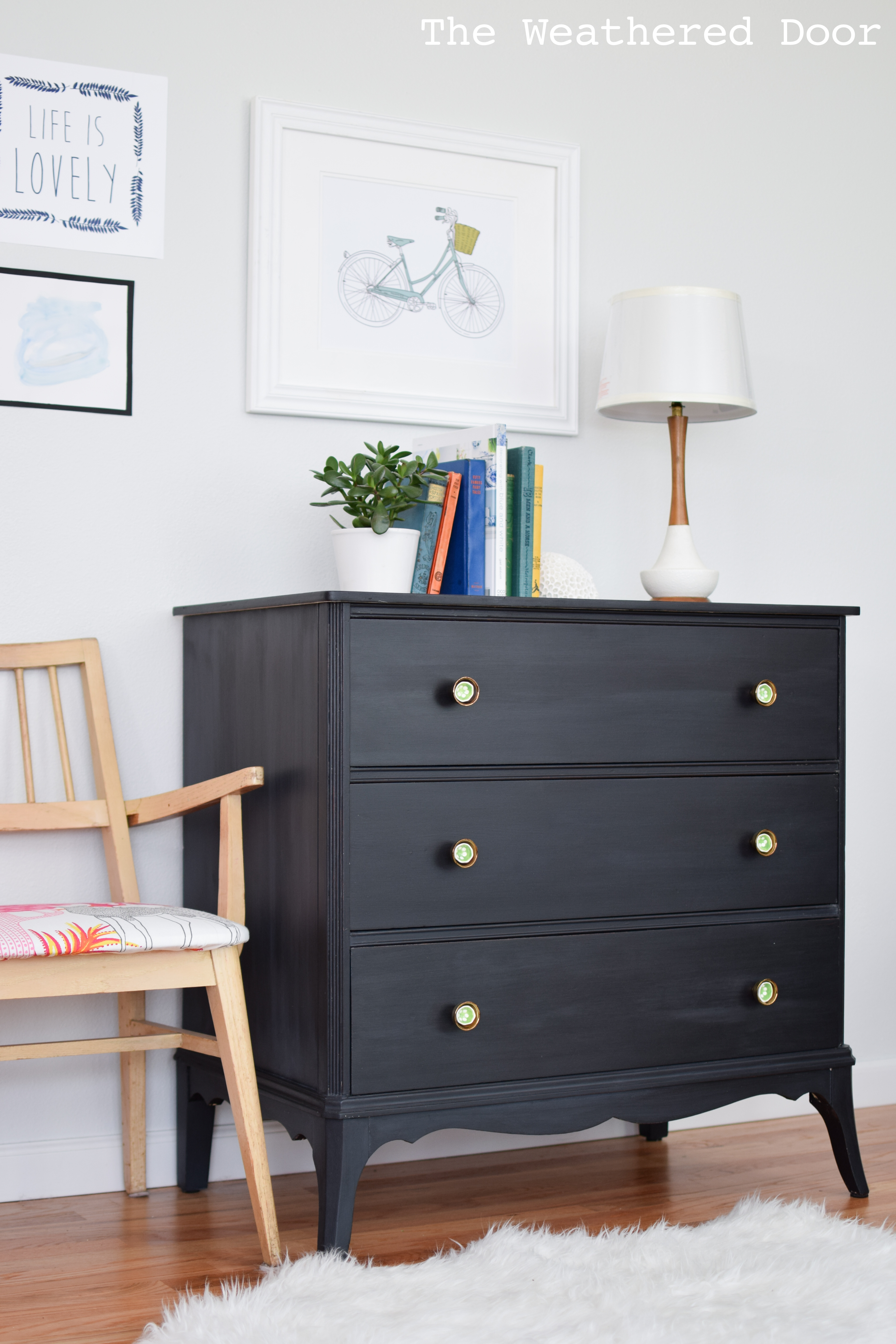 3 Drawer Black Dresser Bestdressers 2019
