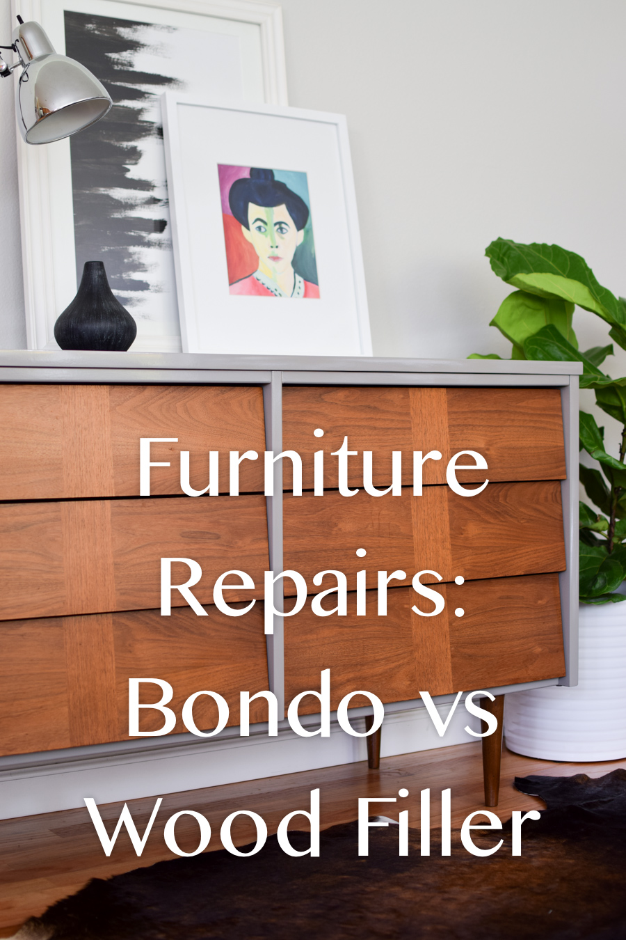 Furniture Repairs: Bondo vs Wood Filler from theweathereddoor.com