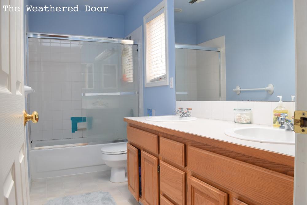 Guest Bathroom Reveal: Before