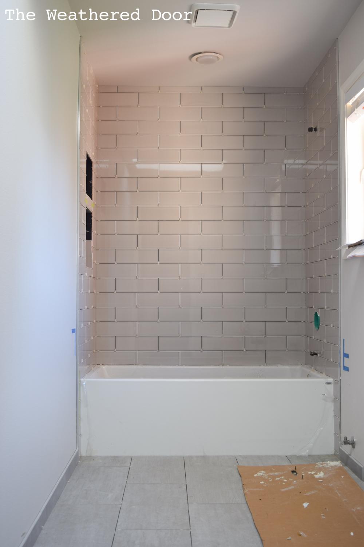 New Bathroom Vanity - One Room Challenge Week 4 - The Weathered Door