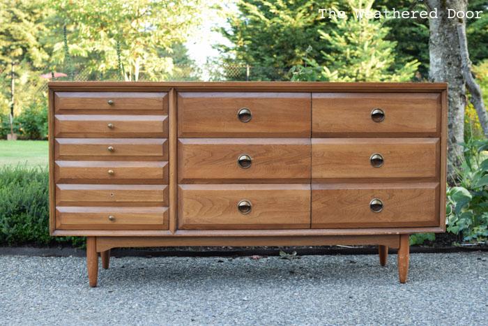 LA Period Mid Century Modern Dresser before