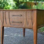 Furniture Makeover Video: Mid Century Table Start to Finish