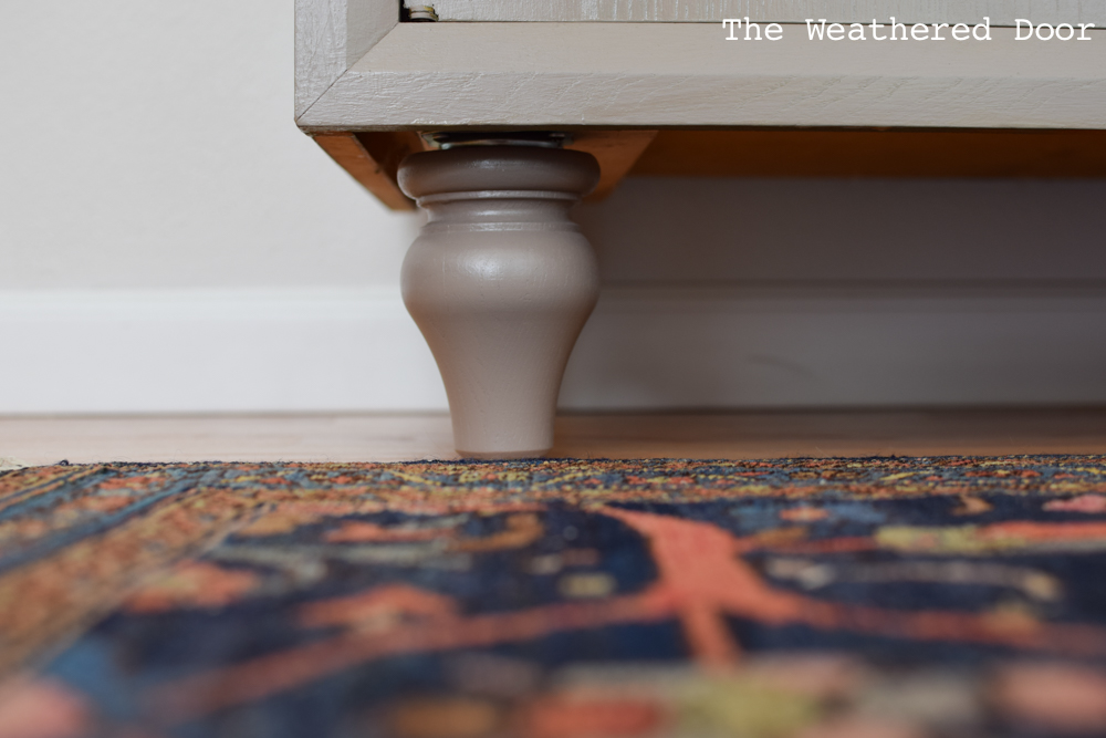 Taupe Moroccan Record Cabinet Makeover