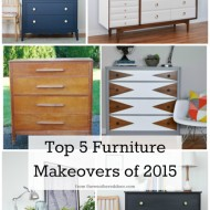 Top Five Furniture Makeovers of 2015