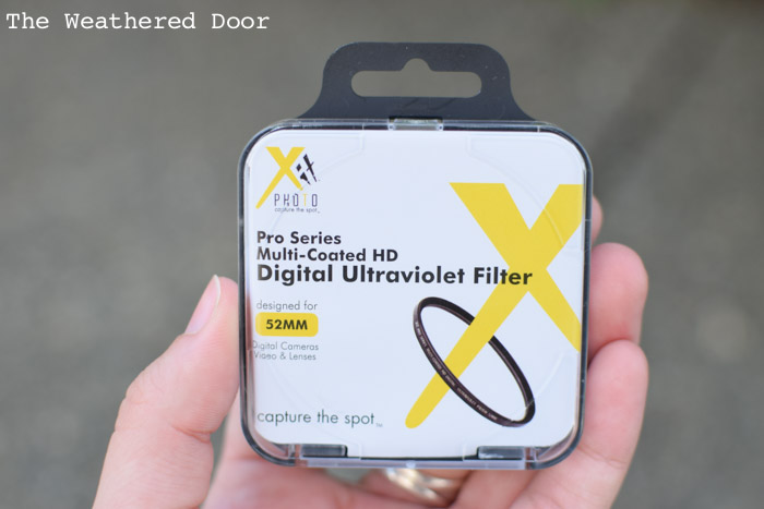 How to Protect your Camera Lens - UV filter video