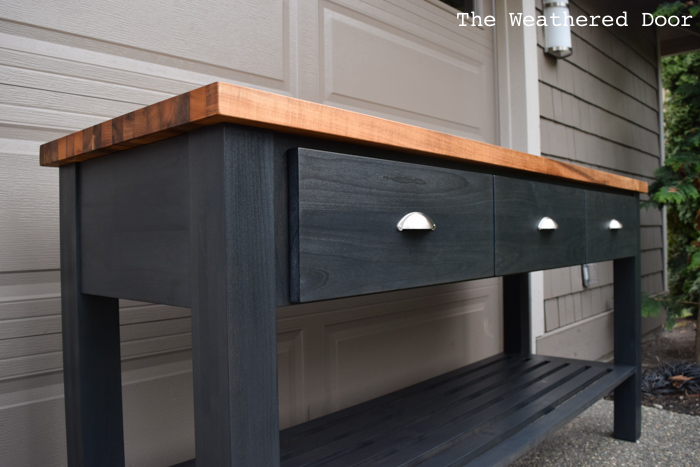 Woodworking Building a Custom Kitchen Island | theweathereddoor.com
