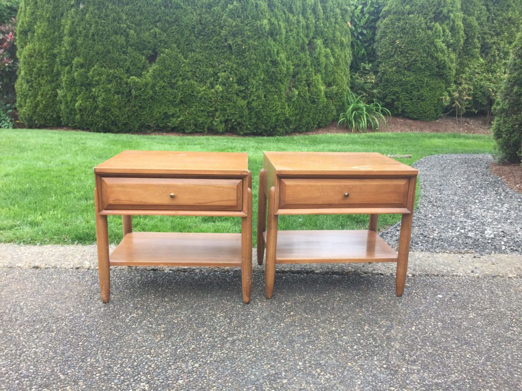 la period mid century nightstands before