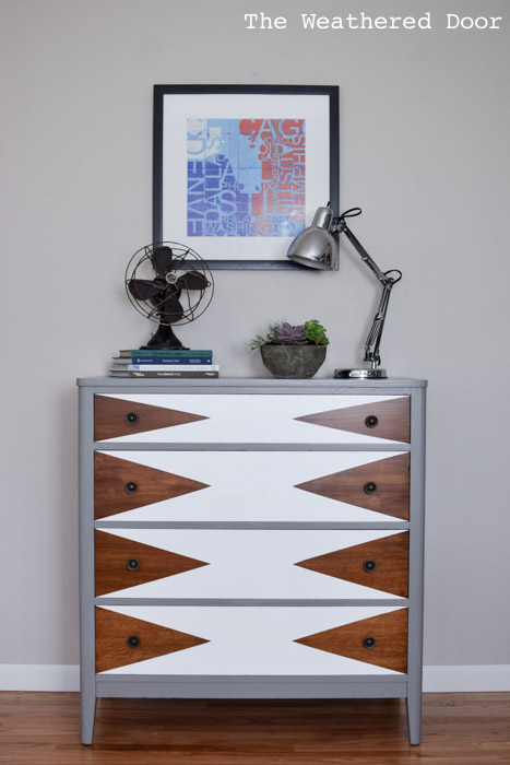 mod triangle dresser | from The Weathered Door wd-1